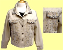 Mili Designs® Jacket Avaiable in Size S to 3X #OT.563OV9001