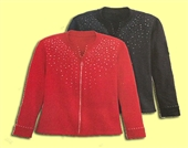 Isaac for Mili Designs® Jacket Available in Size S to 3X #32.1004FF