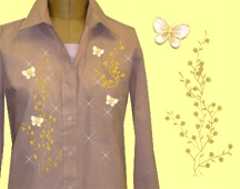 Mili Designs® Blouse Available in Sizes S to 3X #FAL.ovy5