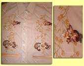 Mili Designs® Blouse Available in Size S to 5X #FL.41.9222