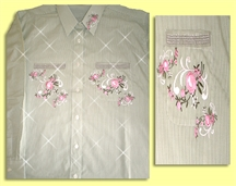Mili Designs® Blouse Available in Size S to 5X #FP.41.3198