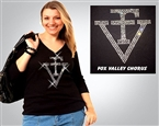 Fox Valley Chorus Rhinestone #FV7007 Tee Sizes XS to 3X