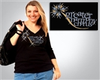 Greater Harmony Chorus Rhinestone #GHC7007 Tee Sizes XS to 3X