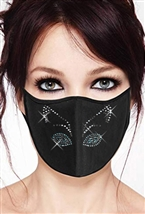 100% Cotton 2 Layer mask with filter pocket #M.cat eyes