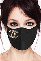 100% Cotton 2 Layer mask with filter pocket #M.CH100