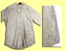 Mili Designs® Blouse Available in Size S to 5X #OT.41.S101