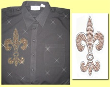 Mili Designs® Blouse Available in Sizes S to 3X #OT.OT.41.S2332.GLD