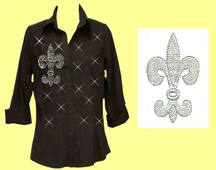 Mili Designs® Blouse Available in Sizes S to 3X #OT.S32C