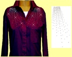 Mili Designs® Blouse Available in Size S to 3X #OT.41.OVRS574