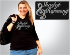 Shades of Harmony Rhinestone #SOH7007 Tee Sizes XS to 3X