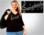 Spirit of Harmony Rhinestone #7007 Tee Sizes XS to 3X