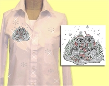 Mili Designs® Blouse Available in Size S to 5X #XM.41.OVRS5339