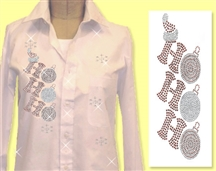 Mili Designs® Blouse Available in Size S to 5X #XM.41.OVRS5364